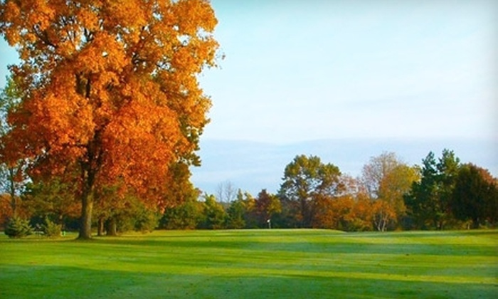 Yankee Springs Golf Course - Wayland: $34 for Two 18-Hole Rounds of Golf and Power-Cart Rental at Yankee Springs Golf Course in Wayland (Up to $68 Value)