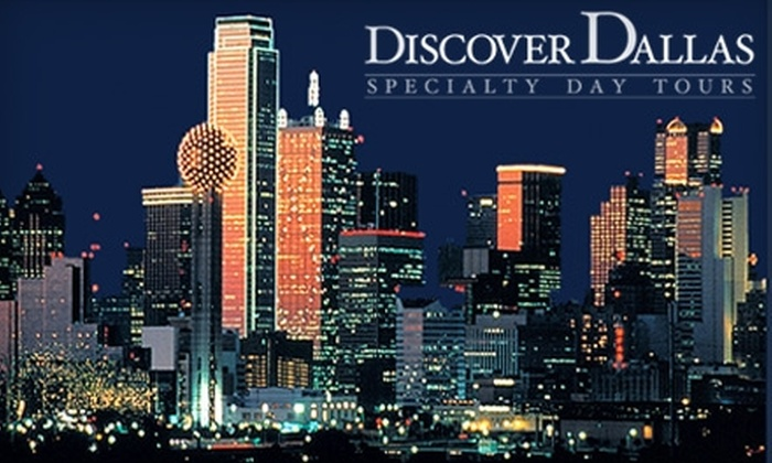 Discover Dallas Specialty Day Tours - Highland Park: $49 for a Two-Hour Dallas Holiday Bus Tour for Two from Discover Dallas ($150 Value)