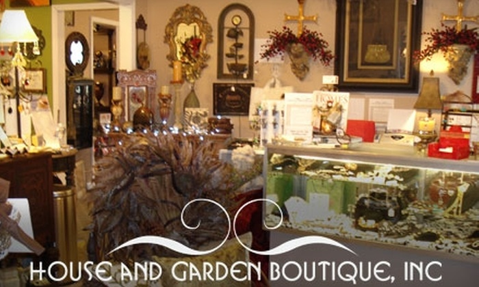 House and Garden Boutique - Woodstock: $20 for $40 Worth of Home Décor, Gifts, and More at House and Garden Boutique in Woodstock