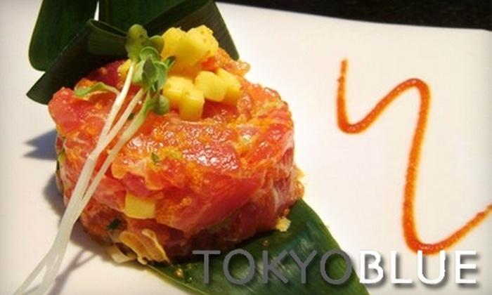 Tokyo Blue - Galt Mile: $25 for $50 Worth of Asian Dinner Fare & Drinks at Tokyo Blue