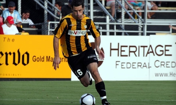 Charleston Battery - Charleston: $20 for a Four-Pack of Tickets to Any 2011 Charleston Battery Regular-Season Home Soccer Game ($40 value)