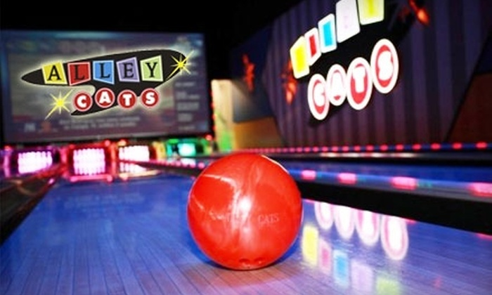 Alley Cats Entertainment Center  - West Arlington: $22 for One Hour of Bowling at Alley Cats Entertainment Center (Up to $51.44 Value)