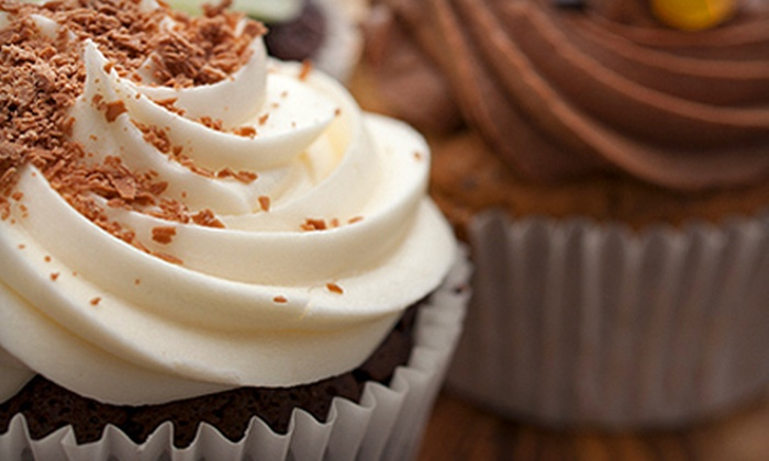 The Cupcake People - Riverwalk: One or Three Dozen Cupcakes or Two Dozen Mini Cupcakes at The Cupcake People in Lawrenceville (Up to 53% Off)