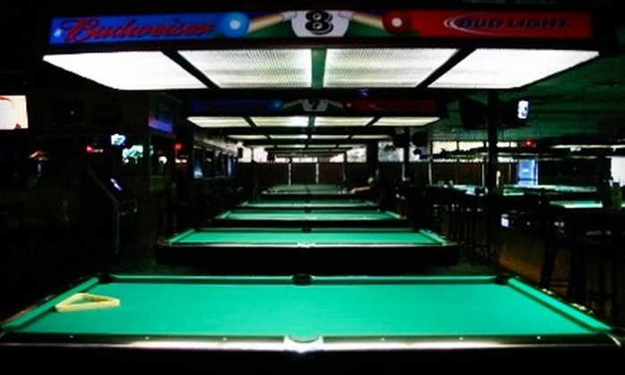 Pockets Pool and Pub - Tallahassee: $10 for $20 Worth of Billiards, Drinks, and Bar Fare at Pockets Pool and Pub