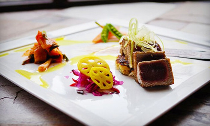 Aria - Cherry Creek: Chef's Three-Course Internationally Inspired Dinner for Two or Four at Aria (Up to 56% Off)