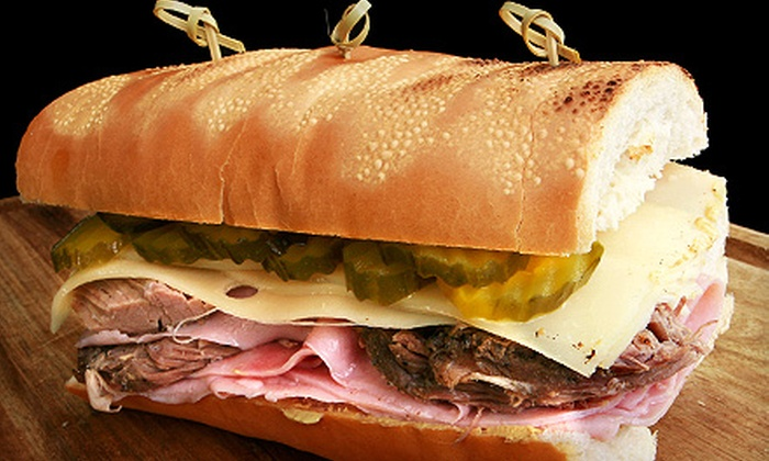 Uncle Ned's Deli - Neenah: $9 for a Deli Meal for Two at Uncle Ned's Deli (Up to $19.51 Value)