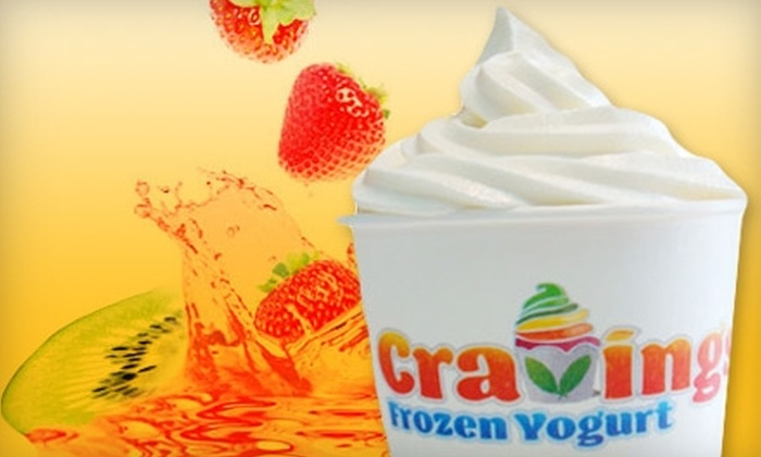 Cravings Frozen Yogurt - Sunny Isles Beach: $5 for $10 Worth of Self-Serve Treats at Cravings Frozen Yogurt in Sunny Isles