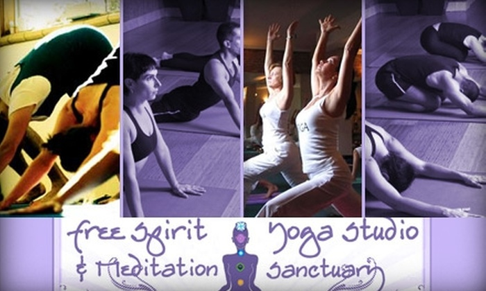 Free Spirit Yoga Studio - FBIR: $19 for Four Group Classes at Free Spirit Yoga Studio