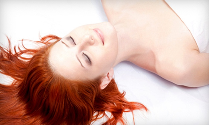Workout Anytime - Deane Hill: $28 for Eight Far-Infrared Massage Sessions at Workout Anytime ($56 Value)