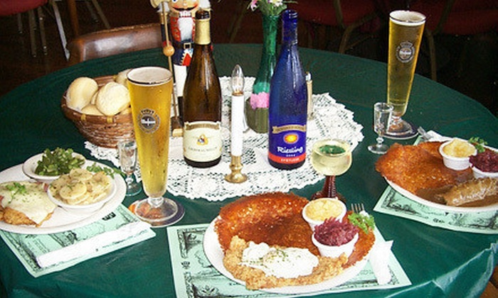 Dreamland Palace - Foster Pond/Waterloo: $25 Worth of German Cuisine