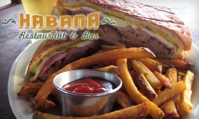 Habana Restaurant - Dawson: $10 for $20 Worth of Authentic Cuban Cuisine at Habana Restaurant