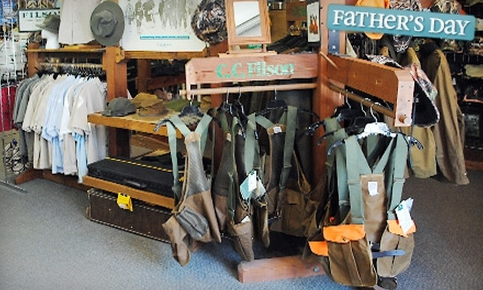Barron's Outfitters - Columbia: $20 for $40 Worth of Fishing and Hunting Gear at Barron's Outfitters