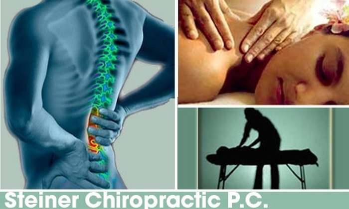 Steiner Chiropractic P.C. - Denver: $30 for a Consultation, Exam, and Massage from Steiner Chiropractic P.C. ($270 Value)