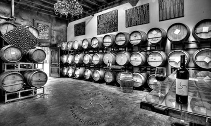 Carruth Cellars Winery - Solana Beach: $10 for Wine Tasting for Two at Carruth Cellars Winery on Cedros in Solana Beach