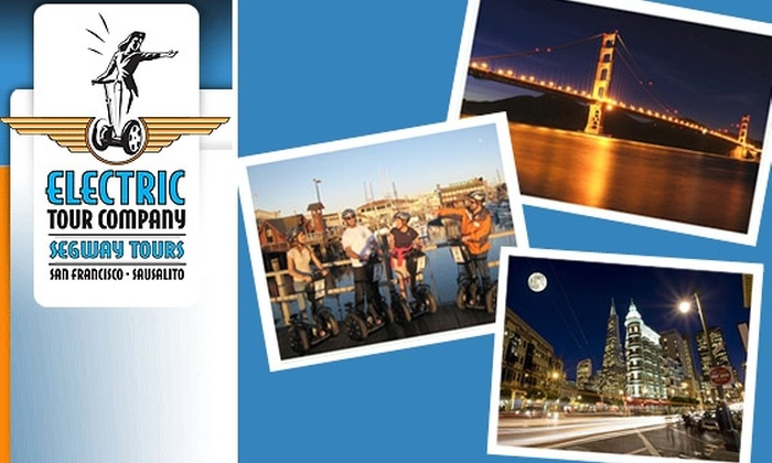 Electric Tour Company - Russian Hill: $38 for a Night Segway Tour with Electric Tour Company (Normally $70)