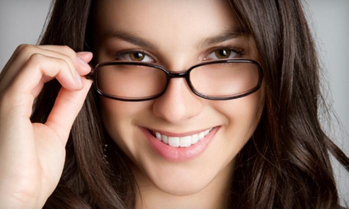Optiks International Superoptical - Multiple Locations: $40 for $125 Toward a Pair of Prescription Glasses Plus Free Second Pair at Optiks International Superoptical