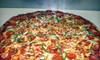 Abie's & Bimbo's Pizza - Greensburg: Pizza Party at Abie & Bimbo's Pizza in Greensburg (Up to 53% Off). Three Options Available.