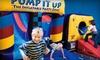 Half Off Bounce-House Visitsat Pump It Up