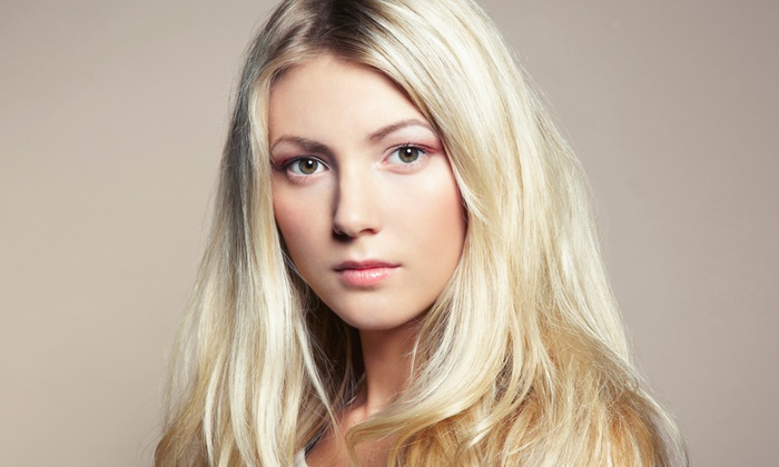 BJ Hair Salon - Multiple Locations: Hair Extensions or Haircut and Style at BJ Hair Salon (Up to 60% Off)