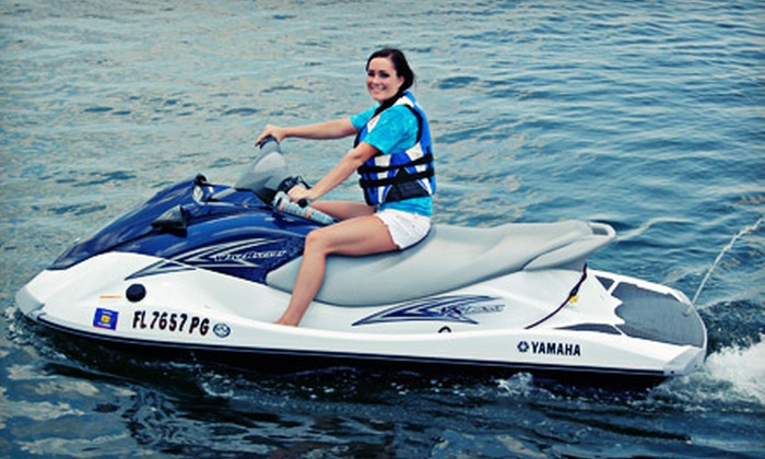 Lotto Boat - Old Southeast: $69 for a 90-Minute WaveRunner Rental at Lotto Boat in St. Petersburg ($139 Value)