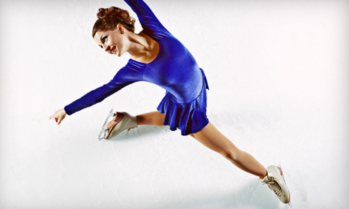 The Pavilion - Taylors: Ice Skating with Skate Rental for Two or Four at The Pavilion (Up to 53% Off)