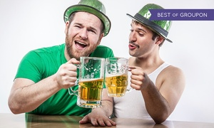 Philly Leprecrawl: One or Two Tickets Philly Leprecrawl on March 12th (54% Off)