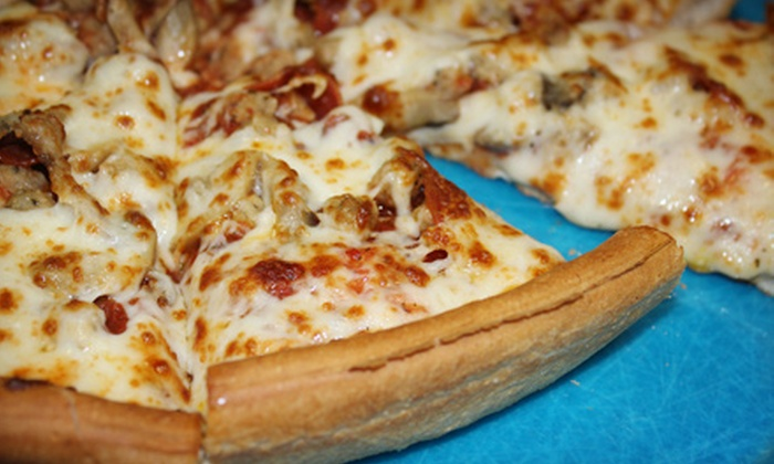 Frodo's Pizza - Pleasantburg: Pizza and Drinks at Frodo's Pizza (Half Off). Two Options Available.
