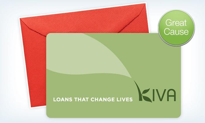 Kiva: Kiva – Two $25Credits to Fund Microloans ($50 Value)