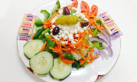 $12 for Two Groupons, Each Good for $10 Worth of Mediterranean Food at Bread & Kabob ($20 Value)
