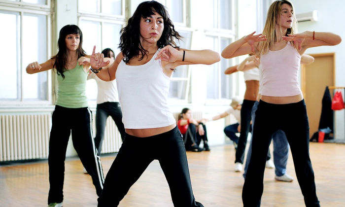 Allure Fitness - Mission: Four Weeks of Pole-Fitness, Zumba, or Booty Camp Classes at Allure Fitness (Up to 64% Off)