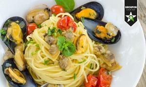 Il Galeone: Menu con portate di carne o pesce a scelta dalla carta e vino da 24,90 €
