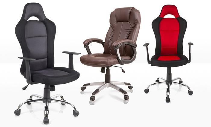 Sportlicher Bürostuhl SiestaDesign Racer oder Chefsessel Prestige inkl. Versand ab 69,95 €