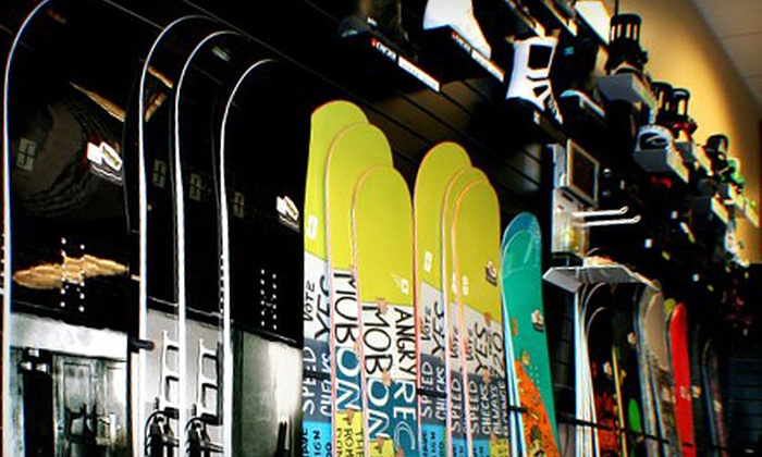 Let It Ride - Spokane: $15 for $30 Worth of Boarding Gear and Apparel at Let It Ride