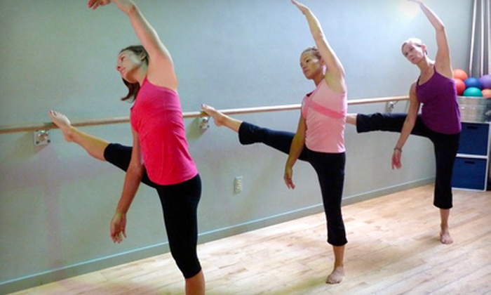 Vie Fitness & Spa - Bach: $35 for Five Barre Intensity or Spinning Classes at Vie Fitness & Spa (Up to $100 Value)