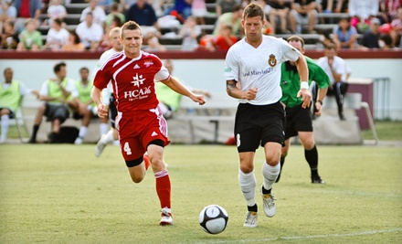 Richmond Kickers Game at Richmond City Stadium on 4/7, 4/21, 5/12, 5/26, 6/9 or 6/23: General Admission for 2   - Richmond Kickers in Richmond