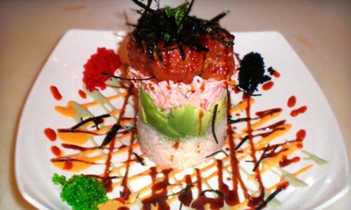 Iron Chefs Hibachi & Sushi Bar - The Emporium: $10 for $20 Worth of Dinner Fare at Iron Chefs Hibachi & Sushi Bar in Mesquite