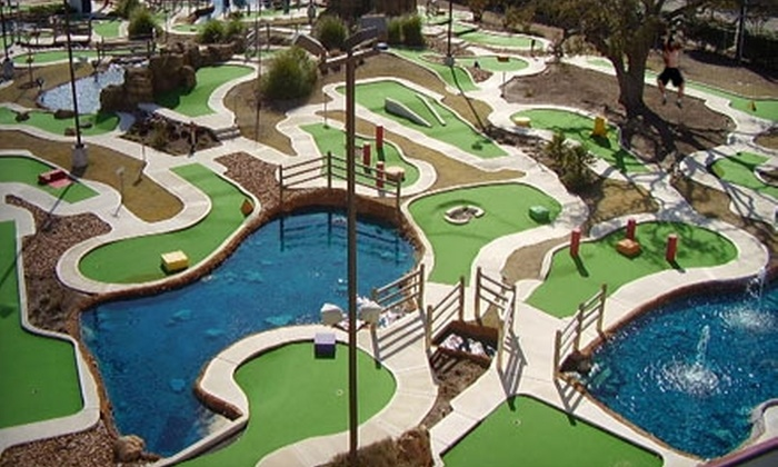 Ice and Golf Center at Northwoods - Far North Central: $7 for One Round of Miniature Golf for Two at The Ice & Golf Center at Northwoods