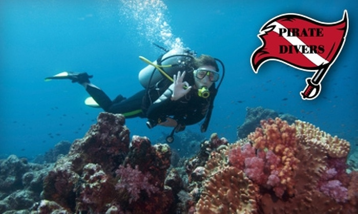 Pirate Divers - Ohio: $175 for an Open-Water Scuba Certification Course Plus Equipment Rental from Pirate Divers ($334 Value)