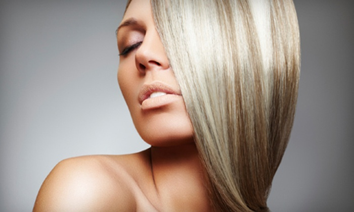 Pacific Sun Salon - Great Bridge: $45 for Cut and Style with Partial Highlights or All-Over Color at Pacific Sun Salon in Chesapeake (Up to $90 Value)