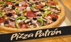 $10 for Pizza, Wings & Breadsticks at Pizza Patrón