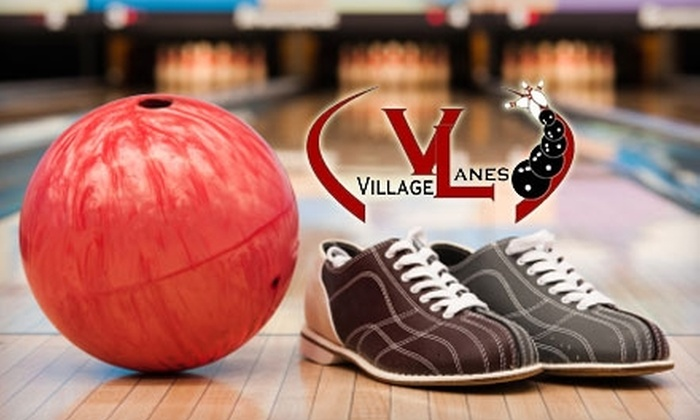 Village Lanes - Howard: $5 for Three Games of Bowling, Plus Shoe Rental and a Soft Drink, at Village Lanes ($10 Value)