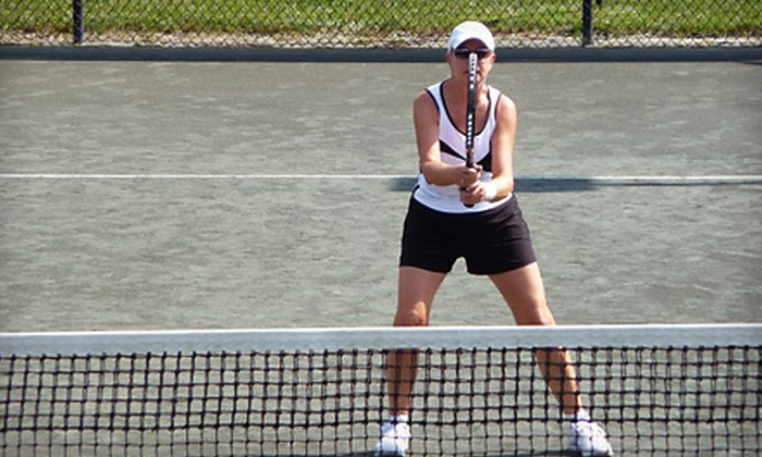 Charlotte Racquet Club North - Davis Lake - Eastfield: $50 for Six Group Tennis Lessons for Beginners at Charlotte Racquet Club North ($150 Value)