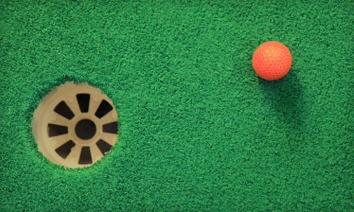 Harry Semrow Driving Range - Des Plaines: $99 for Unlimited Mini-Golf Summer Family Pass at Harry Semrow Driving Range in Des Plaines (Up to $768 Value)