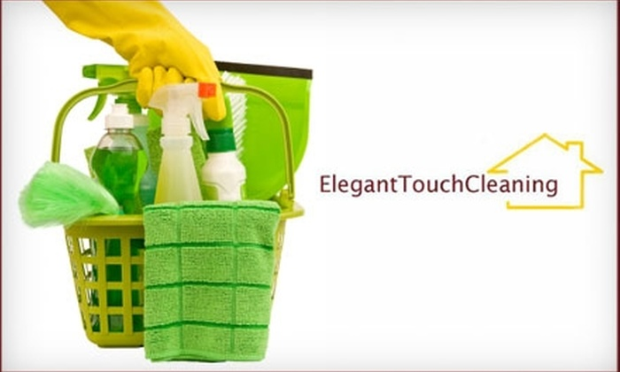 Elegant Touch Cleaning - Downtown Indianapolis: $84 for Three Man Hours of House Cleaning from Elegant Touch Cleaning (Up to $175 Value)