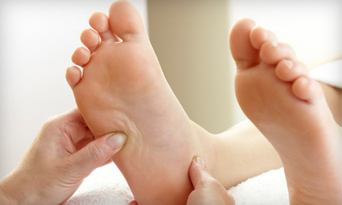 A Treat For Your Feet Reflexology - Adelaide Churchhill: $25 for One-Hour In-Home Reflexology Treatment from A Treat For Your Feet Reflexology ($50 Value)