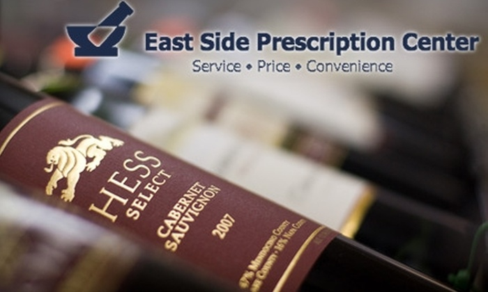 East Side Prescription Center - Mt. Hope: $10 for $20 Worth of General Merchandise, Beer, Wine, and Spirits at East Side Prescription Center
