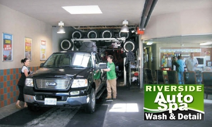 Riverside Auto Spa - East Windsor: Up to 73% Off Car Wash and Detailing Packages at Riverside Auto Spa. Choose From Three Options.