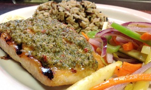Harvey's Bar and Grill: Lunch or Dinner at Harvey's Bar and Grill (Up to 45% Off). Three Options Available.