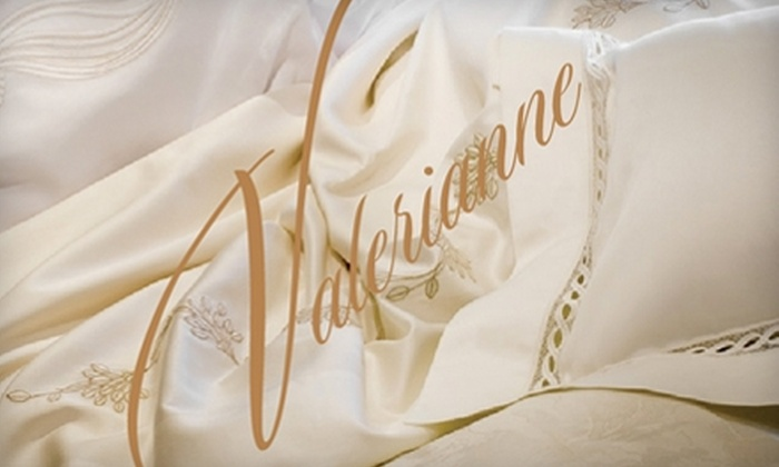 Valerianne - Vienna: $35 for $75 Toward Fine Home Décor at Valerianne in Vienna