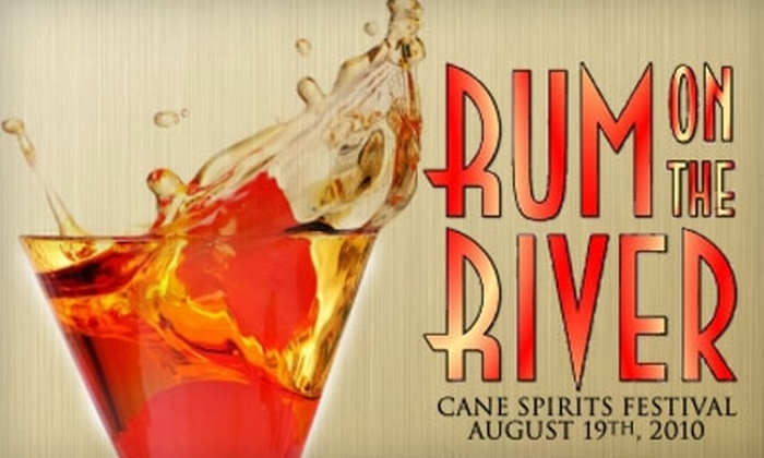 Rum on the River - Northern Liberties/ Fishtown: $35 Ticket to Rum on the River Cane Spirits Festival on Thursday, August 19 ($70 Value)